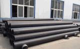 A água ou o sistema de suprimento de gás ou óleo do tubo de plástico de PE