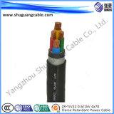 Niedrige Voltage/XLPE Insulated/PVC umhüllte gepanzerte Kabel-Größen