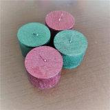 Heißer Verkauf kleine Pfosten-Kerze mit Farben-Lack-Größe: D5cm*H3.5cm, 60g
