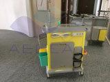 AG-ET017 больницы чрезвычайной передвижной медицинской тележке с выдвижными ящиками