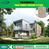 Casa prefabricada del lujo barato con el chalet ligero de Prefabricada de la estructura de acero