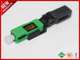 Dirigir la fábrica de fibra óptica SC APC conector rápido