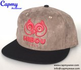 Custom дизайна Red Hat с 3D-вышивкой логотипа плоские края Red Hat поставщика