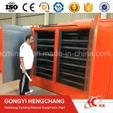 Dessiccateur direct de briquette de charbon de bois de charbon d'approvisionnement d'usine