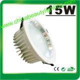 luz de techo ligera de 15V LED abajo 15W LED