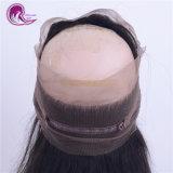 360 de la Dentelle perruque de cheveux péruvienne frontale droite