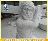 Sculpté à la main de la Dernière Cène statue en marbre