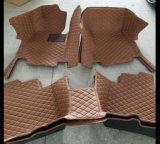 couvre-tapis en cuir 2017 de véhicule de 5D XPE pour des éruptions de Nissans