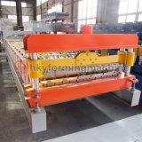 Haute efficacité pour machine à profiler l'étape du carreau du toit de la machine de fabrication de tôle en acier galvanisé
