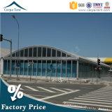 Structuur 25m*40m van het aluminium de Duurzame Op zwaar werk berekende Tent van het Dak van de Koepel voor Tentoonstelling