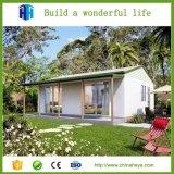 ケニヤの製造者のための熱い普及した小さい携帯用プレハブの家デザイン