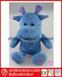 견면 벨벳 하마의 귀여운 연약한 아기 승진 장난감