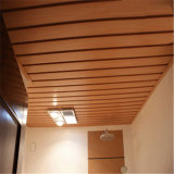 Le bois plastique Plafond Plafond composite/WPC/PVC plafond pour la décoration intérieure