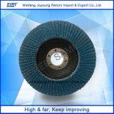 Amoladora angular Solapa Disco abrasivo de alúmina de la rueda de la aleta