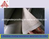 С поверхности гидроизоляции Self-Adhesive Smmoth HDPE мембрана повышенной прочности