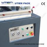 枕マットレスのキルトの圧縮機械の真空のパッキング機械湿気の防止の半自動プラスチックシーリング機械(YS-700/2)