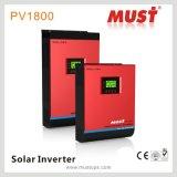 AC 순수한 사인 파동 태양 에너지 변환장치 3000W에 DC
