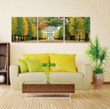 Artigos de casa de alta qualidade Projetos de pintura de vidro de flores