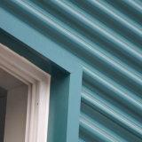 Peinture couleur des matériaux de construction la plaque de tôle de toit ondulé en acier galvanisé