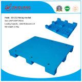 Produits d'entrepôt 1200 * 1200 * 140mm Palette en plastique HDPE Palette en plastique plat de neuf pieds neufs pour le transport (ZG-1212)
