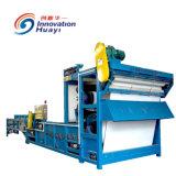 La deshidratación de lodos filtro prensa de la correa