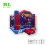 Spiderman-Thema-federnd Schloss-aufblasbarer Prahler