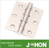"""Bisagra de puerta del hardware de Stee del hierro del metal (3 accesorios de la puerta """" X2 """")"""