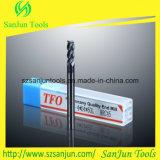 Taglierina solida inossidabile del laminatoio di estremità del quadrato del carburo del tungsteno caldo di vendite