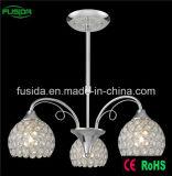 食堂のセリウムの証明書が付いている水晶吊り下げ式の照明シャンデリア