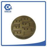 Монетка металла 3D фабрики изготовленный на заказ коммеморативная