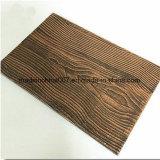 Siding цемента смотрит как древесина