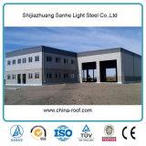 Edificios de oficinas de la construcción del diseño del metal comercial prefabricado de la estructura de acero