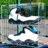 Boîte de présentation acrylique de chaussure de vente directe d'usine