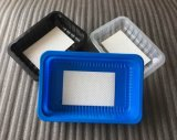 OEM keurt de In het groot Beschikbare Plastic Dienende Verpakking van het Bevroren Voedsel van het Dienblad goed