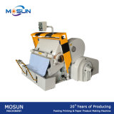 Máquina que arruga y que corta con tintas de la placa de papel Ml930