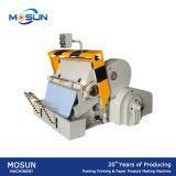 Máquina vincando e cortando da placa Ml930 de papel