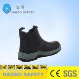 Непосредственно на заводе дешевые цены PU единственной стали ноги водонепроницаемый чехол из натуральной кожи промышленной деятельности рабочей защитные ботинки