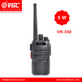 Vr-350 VHF/UHF 5 Walkietalkie em dois sentidos do rádio 16CH do watt
