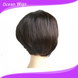 Bangs, Black Women (LW-008)를 위한 바브 Synthetic Front Lace Wigs를 가진 새로운 Design 바브 Wigs