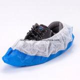 PP+PE Wegwerfzwei Farben-rutschfester Schuh-Deckel