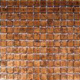 Mosaico di vetro dorato di arte di vendita calda (VMW3108)