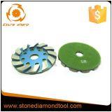 Металла диаманта пола этапа 4 дюймов диск конкретного меля
