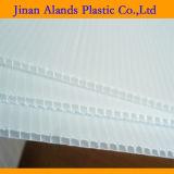 Feuilles opaques du blanc 1220*2440mm 4mm Correx Coroplast Corflute