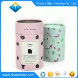 Color personalizado Papel cartón tubo cosméticos