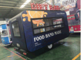 Китайская передвижная тележка еды трейлера доставки с обслуживанием тележки еды