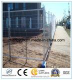 熱い浸された電流を通された溶接された金網の塀か金属の塀