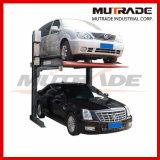 Elevación hidráulica del estacionamiento del estacionamiento del sistema del coche del equipo mecánico del garage
