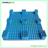 Empilhamento de plástico unidirecional de malha de transporte de paletes durável