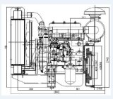 GensetのためのQC380d 1.357Lの変位のディーゼル機関