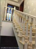 Pêche à la traîne en bois complet réelle normale européenne moderne d'escalier de mode